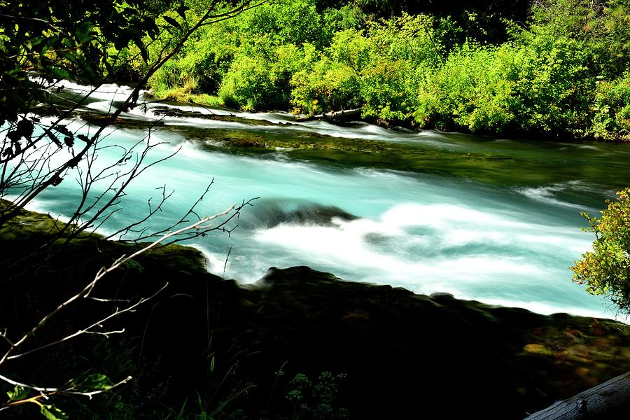 Metolious River Flow by Jerry Sodorff