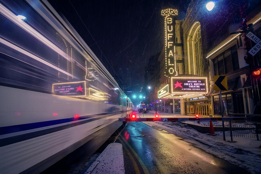 Metro Railing it to the Theater District by Jay Smith