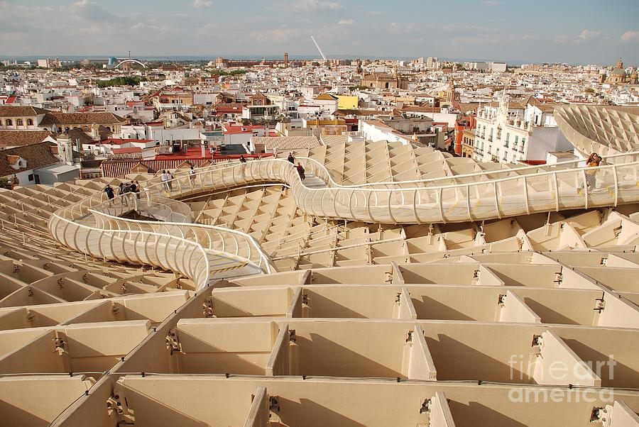 Metropol Parasol roof in Seville by David Fowler