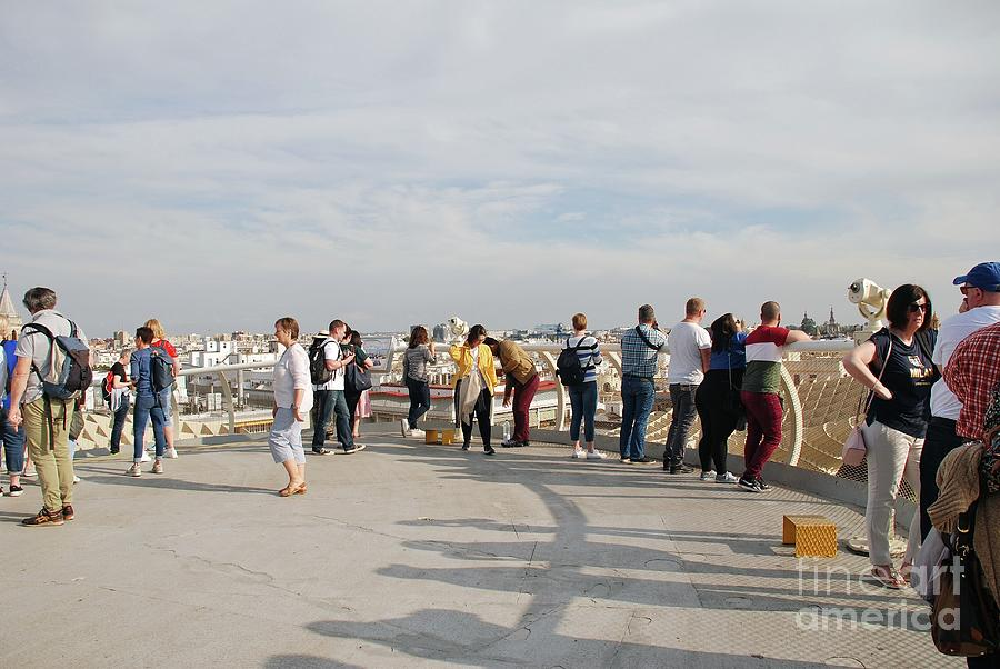 Metropol Parasol view point in Seville by David Fowler