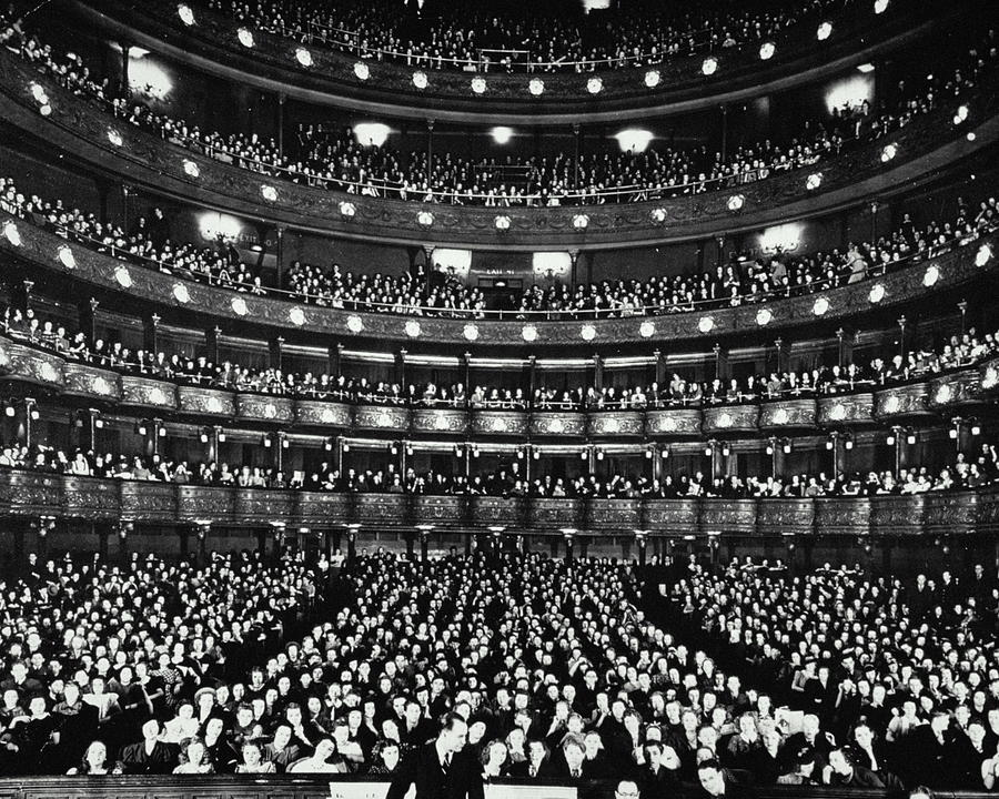 Metropolitan Opera House Photograph by Archive Holdings Inc.