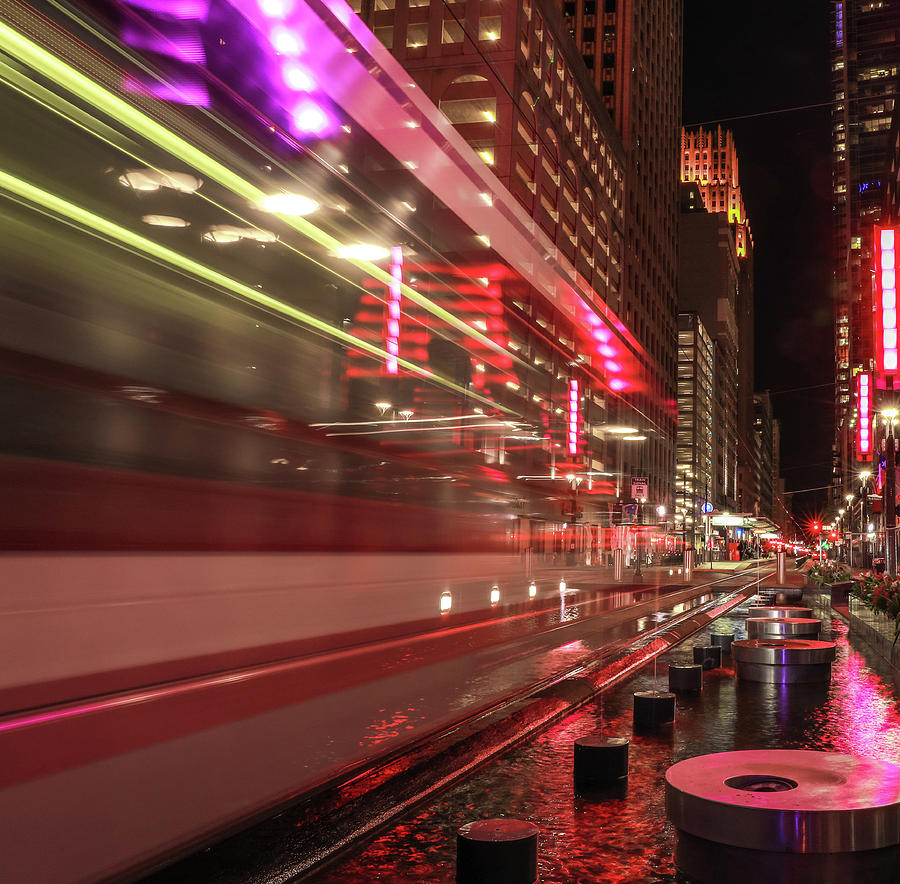 Metrorail Main Street Square Houston by Dan Sproul