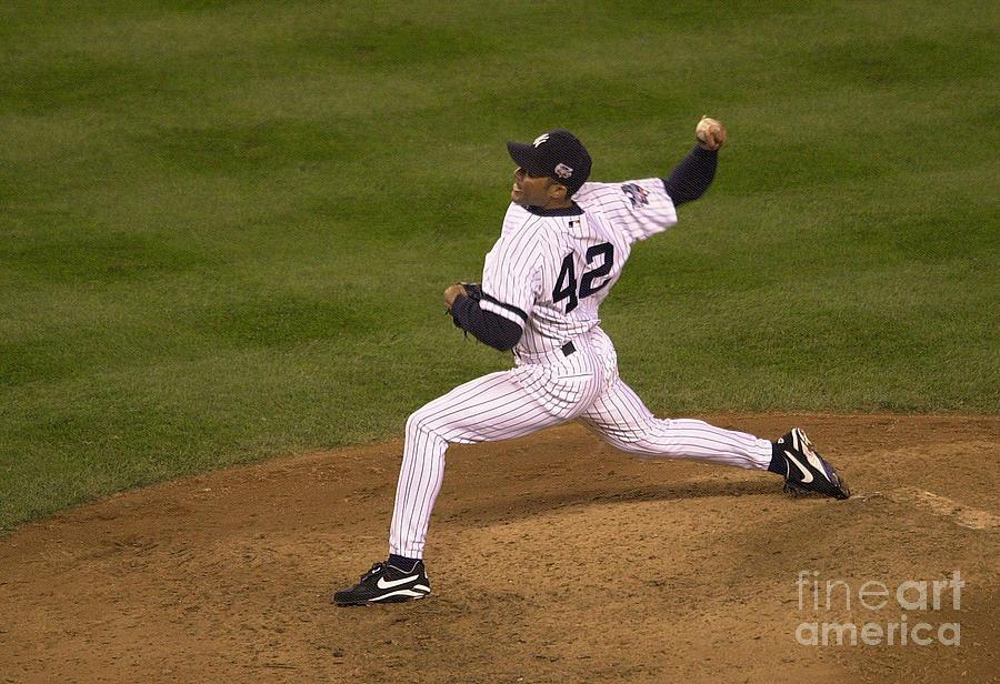 Mets V Yankees X Rivera Photograph by Ezra Shaw