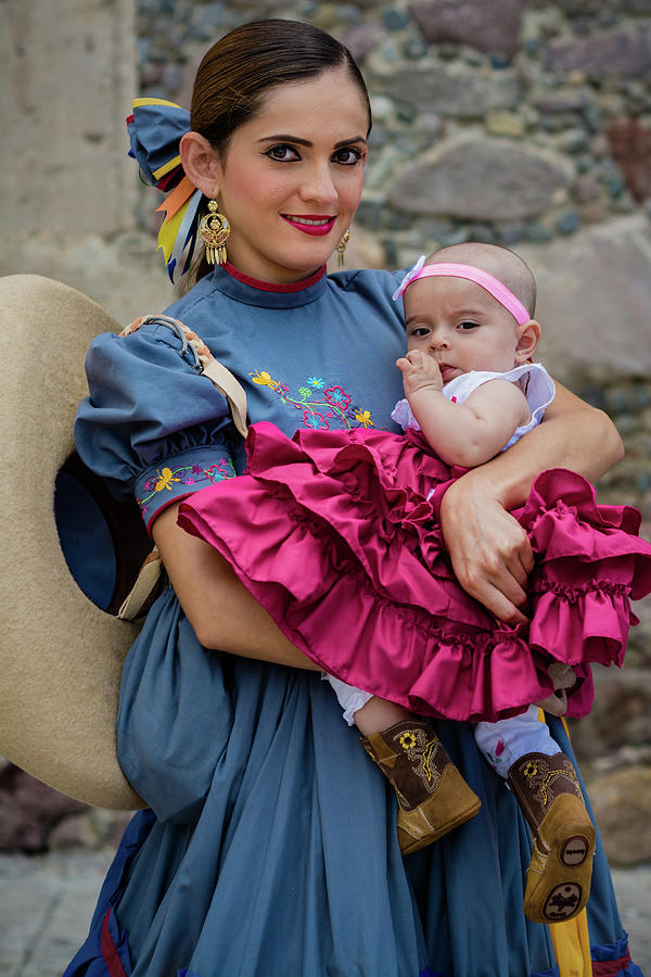 Cowgirl Photograph - Mexican Cowgirls by Dane Strom