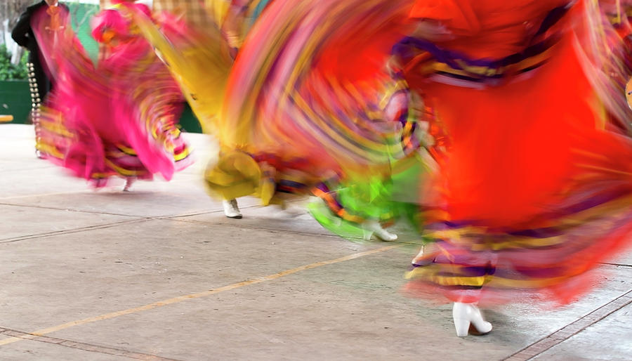 Mexican Folklore Dancers Photograph by Jmalov