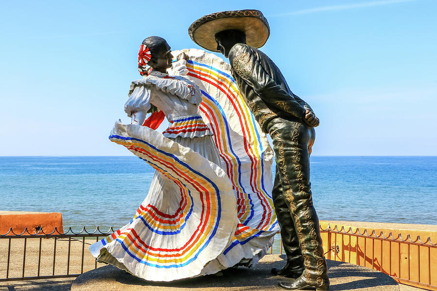 Mexican Hat Dance, Puerto Vallarta by Dawn Richards