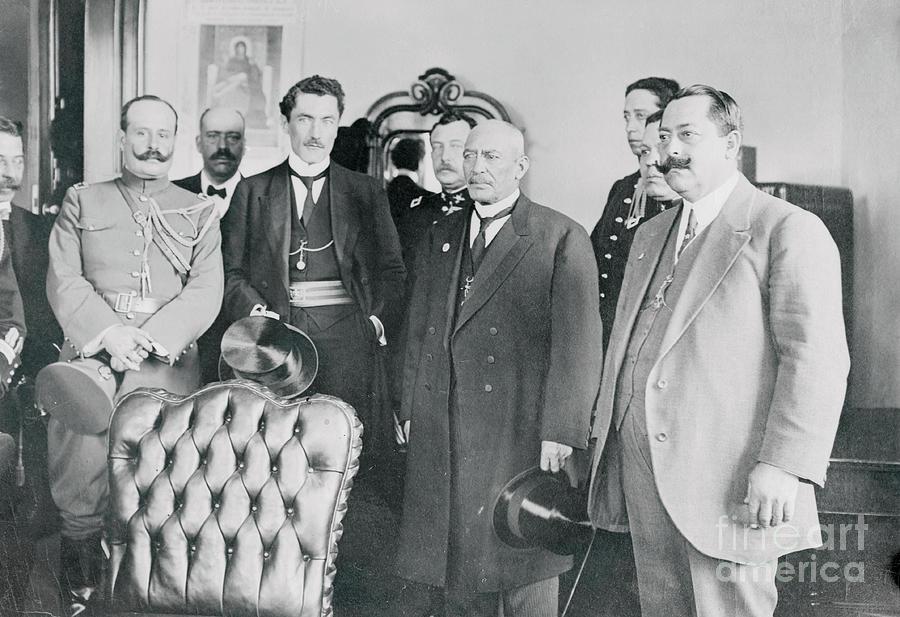 Mexican President Victoriano Huerta Photograph by Bettmann