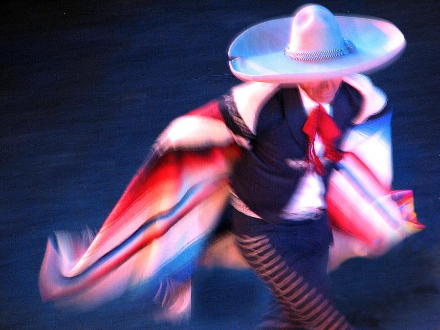 Mexican Traditional Dancer, Guadalajara Photograph by Saul Landell / Mex