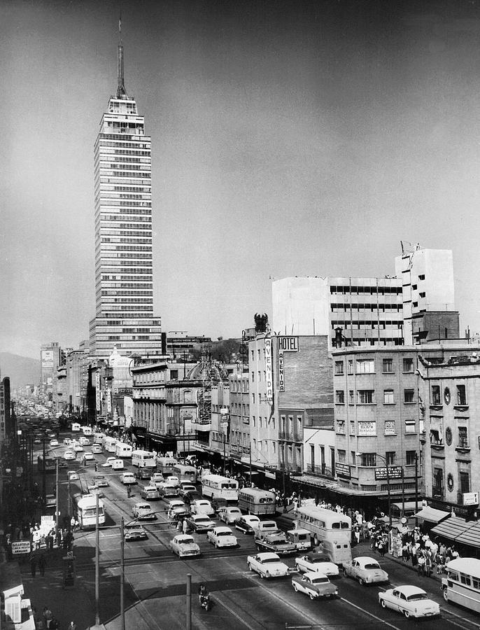 Mexico City 1964 Photograph by Keystone-france