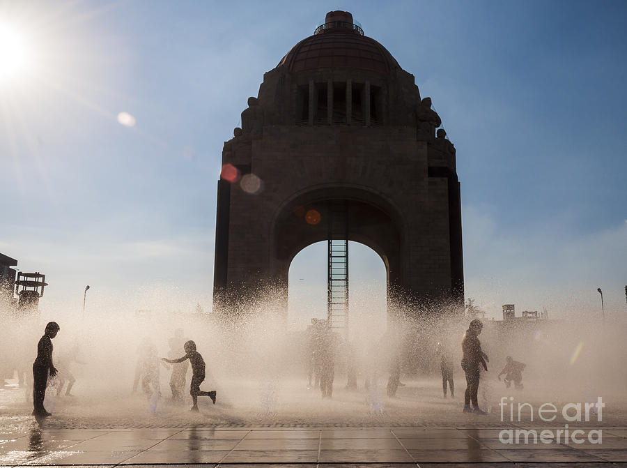 Sky Photograph - Mexico City by Javier Garcia