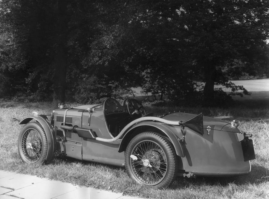 Morris Photograph - Mg Sports Car by Sasha