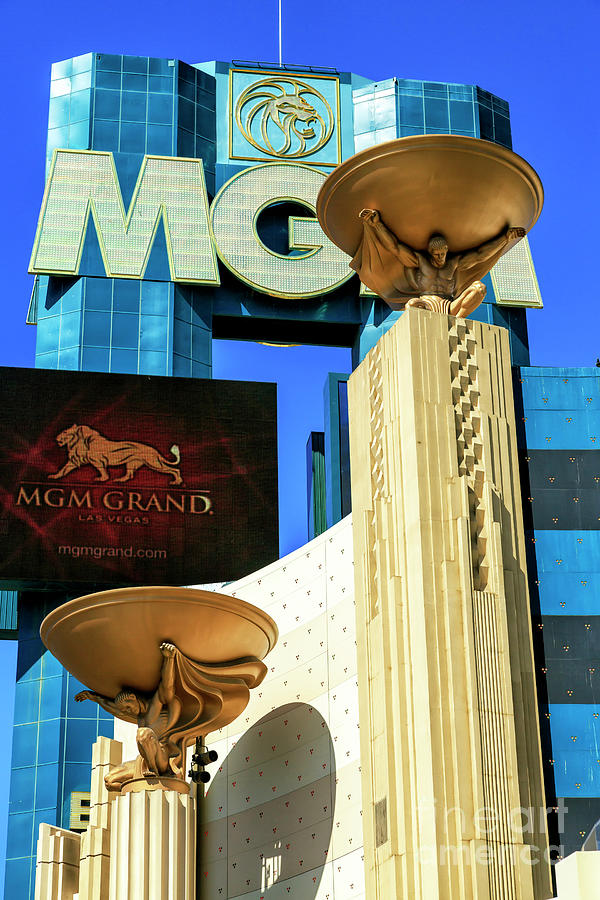 MGM Grand Las Vegas by John Rizzuto