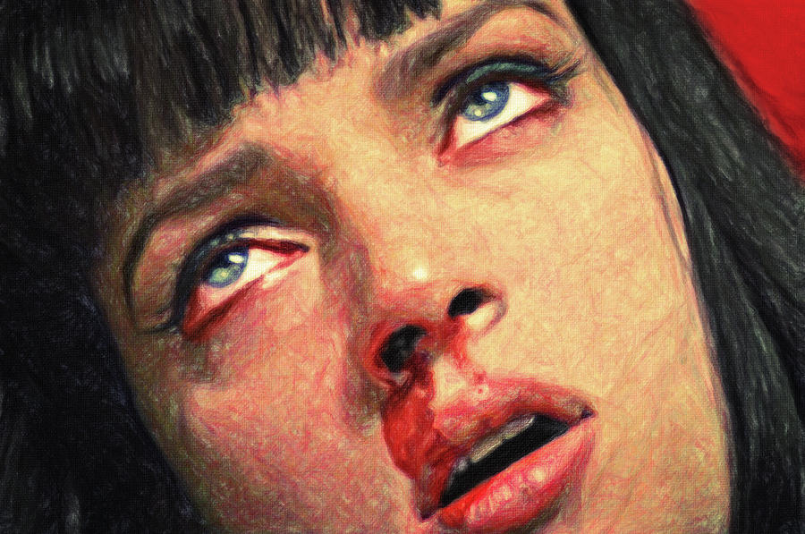 Mia Wallace Painting