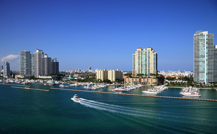 Miami Beach Marina Photograph by Jorgegonzalez