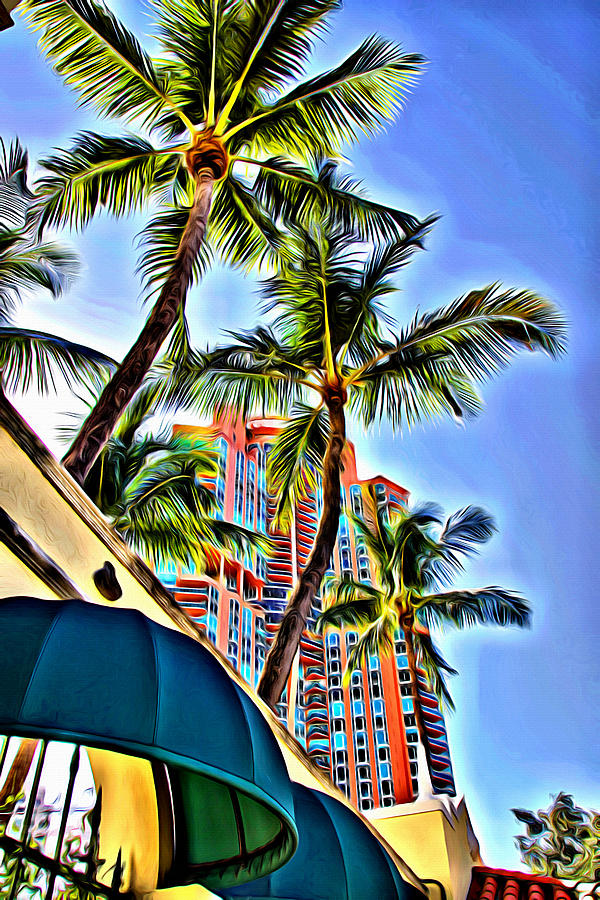 Miami Canopies by Alice Gipson