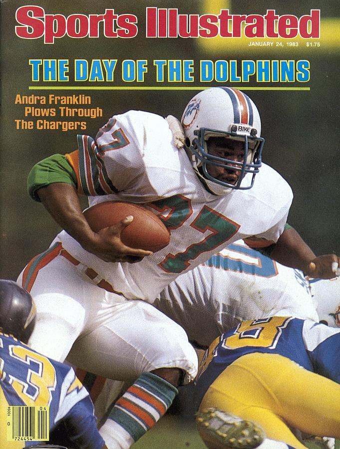 Miami Dolphins Andra Franklin, 1983 Afc Second Round Sports Illustrated Cover Photograph by Sports Illustrated