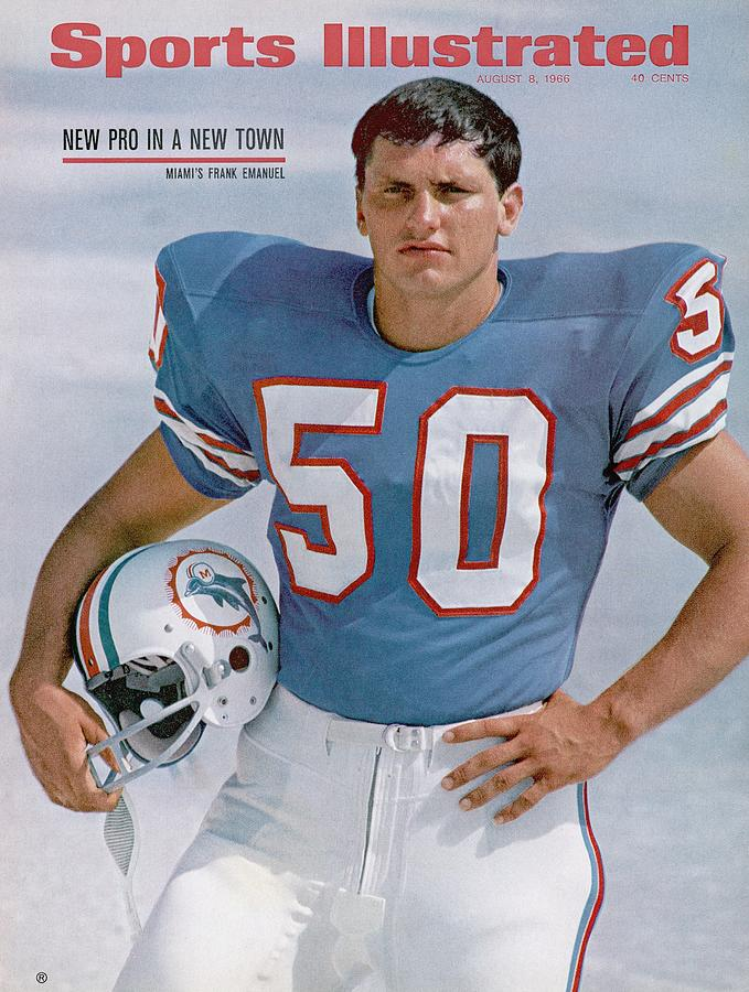 Miami Dolphins Frank Emanuel Sports Illustrated Cover Photograph by Sports Illustrated