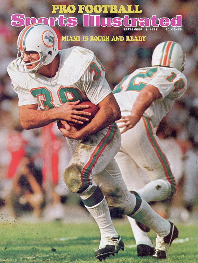 Miami Dolphins Larry Csonka, Super Bowl Vii Sports Illustrated Cover Photograph by Sports Illustrated