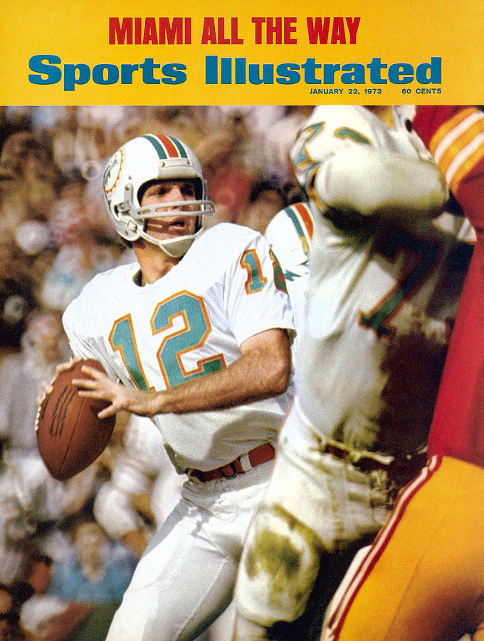 Miami Dolphins Qb Bob Griese, Super Bowl Vii Sports Illustrated Cover Photograph by Sports Illustrated