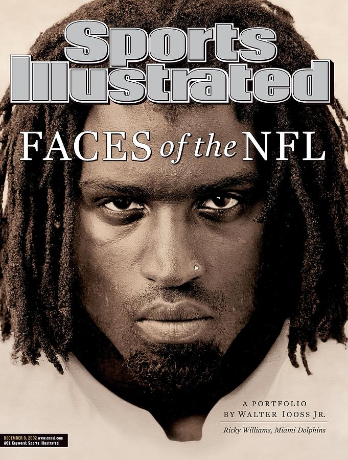 Miami Dolphins Ricky Williams Sports Illustrated Cover Photograph by Sports Illustrated