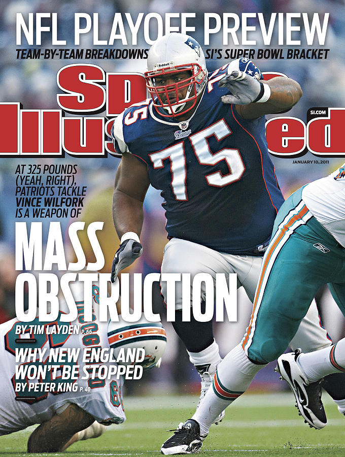 Miami Dolphins V New England Patriots Sports Illustrated Cover Photograph by Sports Illustrated
