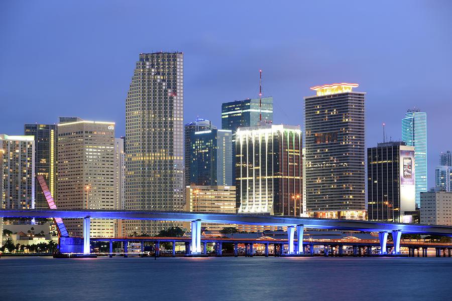 Miami, Florida Photograph by Jumper