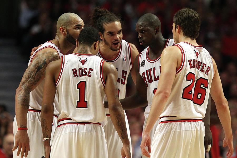 Miami Heat V Chicago Bulls - Game Two Photograph by Jonathan Daniel