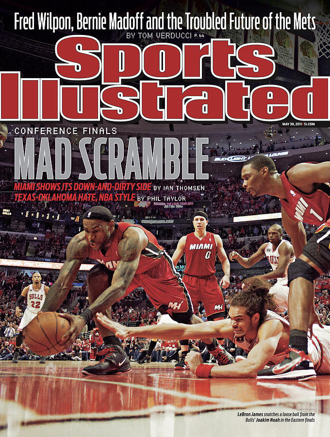 Miami Heat V Chicago Bulls - Game Two Sports Illustrated Cover Photograph by Sports Illustrated