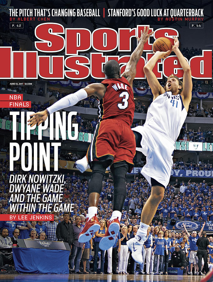 Miami Heat V Dallas Mavericks - Game Three Sports Illustrated Cover Photograph by Sports Illustrated