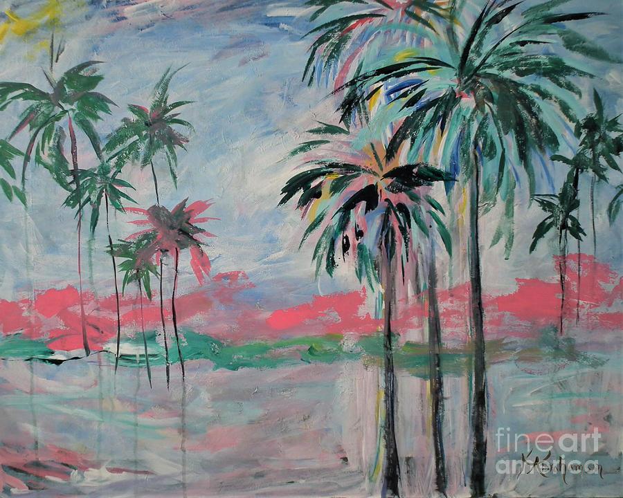 Miami Palms by Kristen Abrahamson
