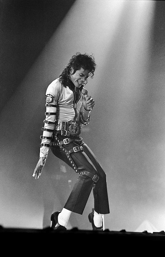 Michael Jackson At Meadowlands Photograph by Dmi