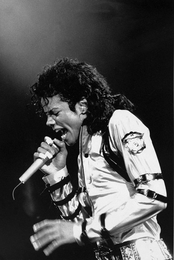 Michael Jackson In Concert At Madison Photograph by New York Daily News Archive