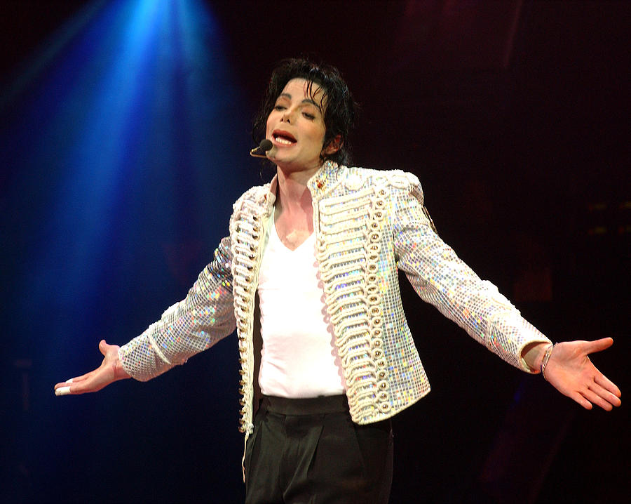Michael Jackson Performs Onstage During Photograph by New York Daily News Archive
