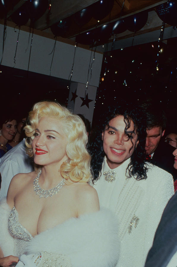 Michael Jacksonmadonna Photograph by Time Life Pictures