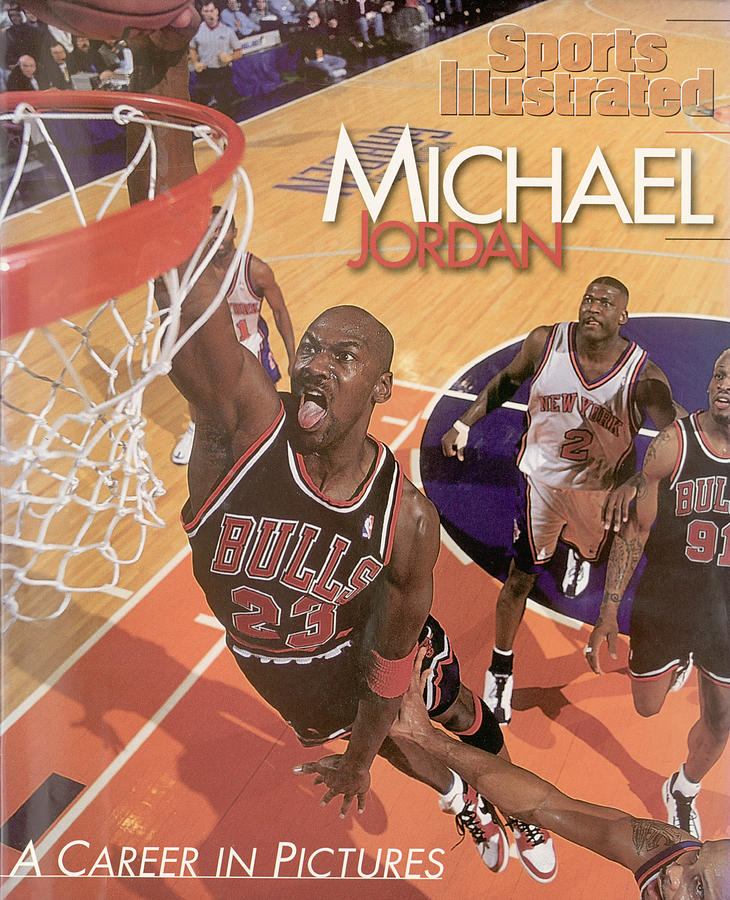 Michael Jordan A Career In Pictures Sports Illustrated Cover Photograph by Sports Illustrated