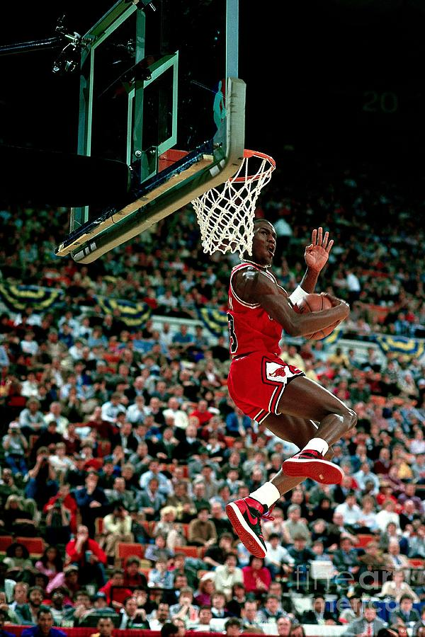 Michael Jordan Competes In The Nba All Photograph by Andrew D. Bernstein