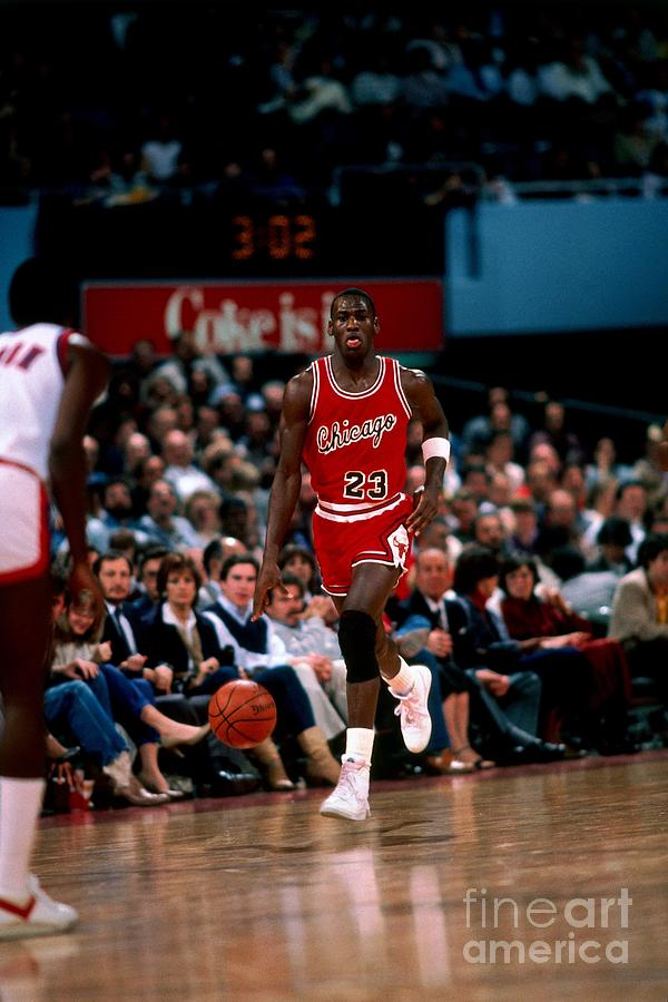 Michael Jordan Photograph by Peter Read Miller