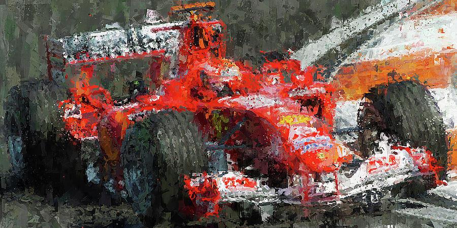 Michael Schumacher, Ferrari - 30 by Andrea Mazzocchetti
