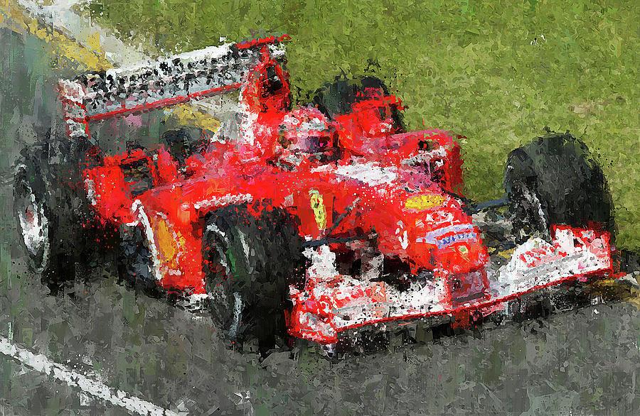Michael Schumacher, Ferrari - 31 by Andrea Mazzocchetti