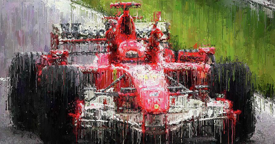 Michael Schumacher, Ferrari - 33 by Andrea Mazzocchetti