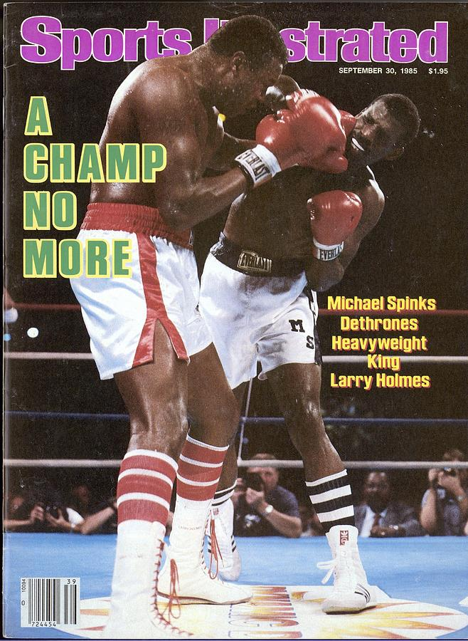 Michael Spinks, 1985 Ibf Heavyweight Title Sports Illustrated Cover Photograph by Sports Illustrated