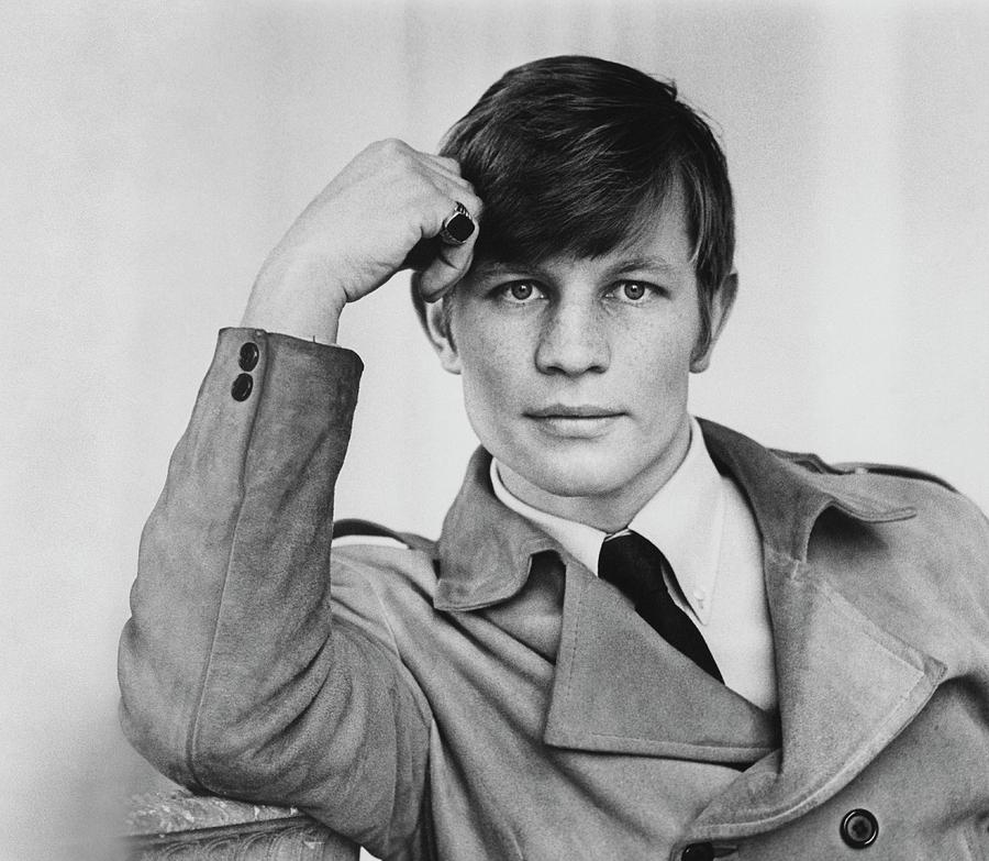 Michael York In Suede Jacket, 1967 Photograph by Pat McCallum