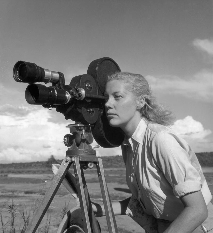 Michaela In Action Photograph by Thurston Hopkins