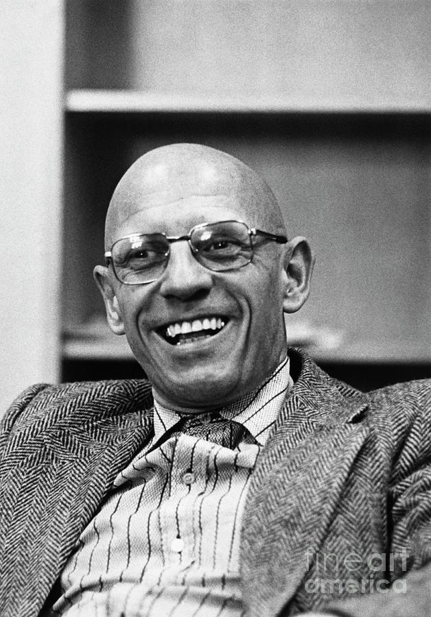 Michel Foucault Photograph by Bettmann