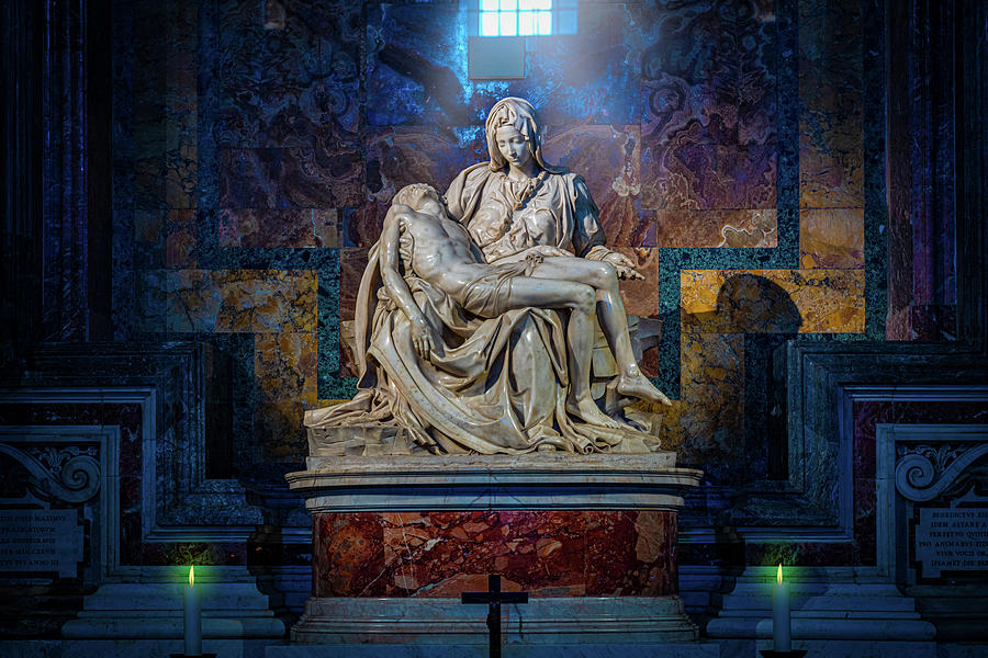 Michelangelo's Pieta by Chris Lord