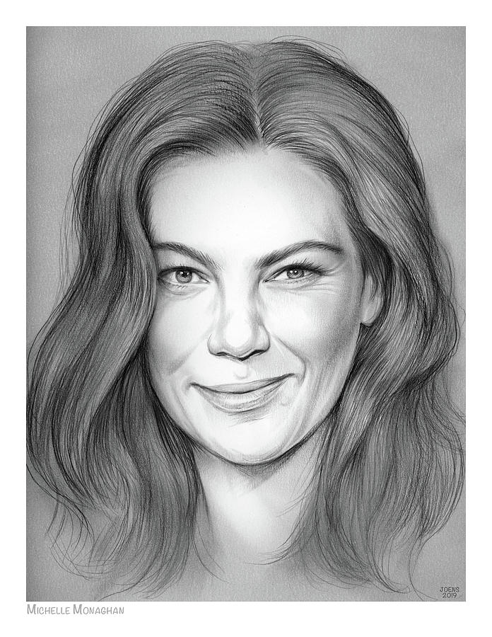 Michelle Monaghan Drawing