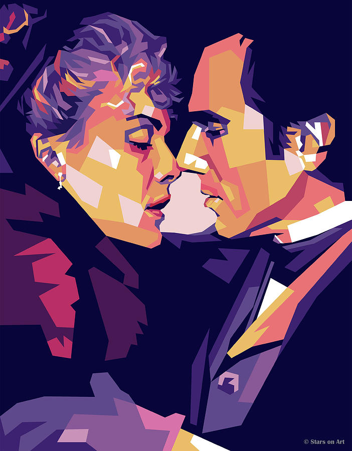 Michelle Pfeiffer And Daniel Day-lewis Digital Art