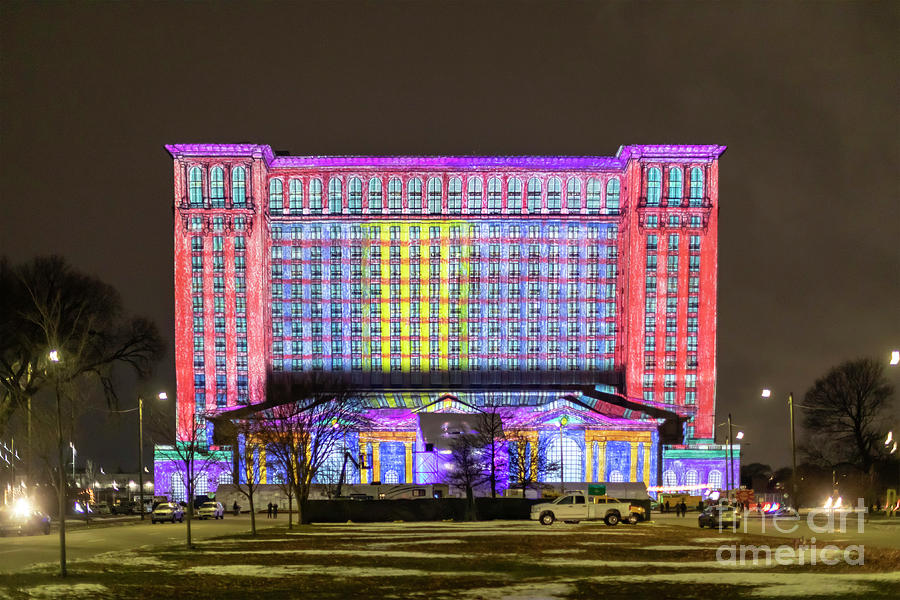 Michigan Central Station by Jim West