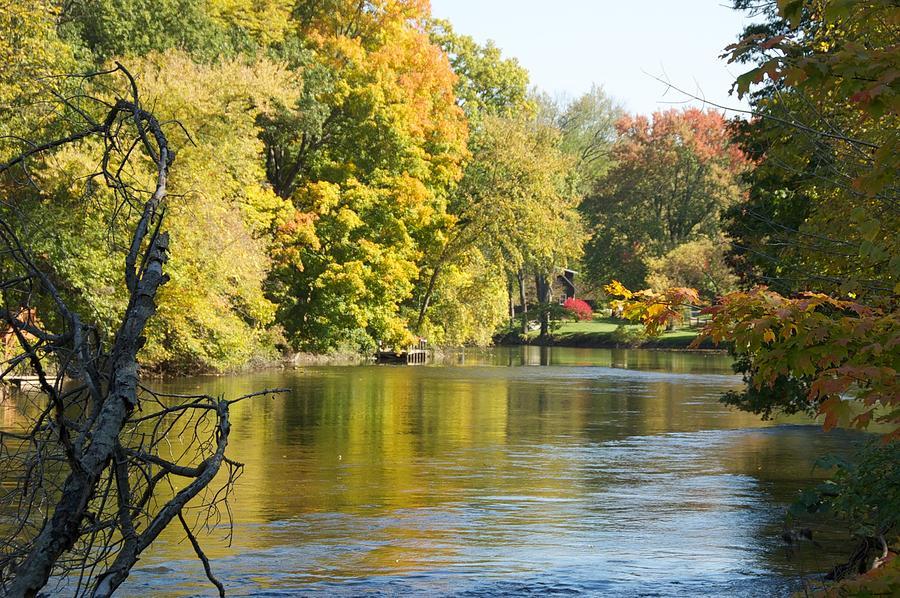 River Photograph - Michigan River by Marty Klar