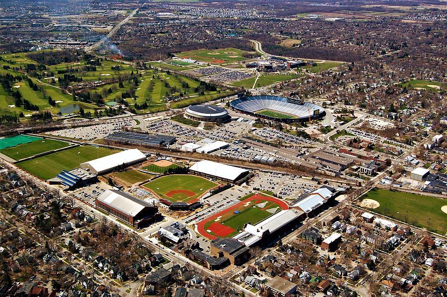 Michigan Stadium Photograph